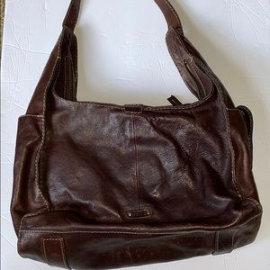Frye Artisan Leather Hobo Bag